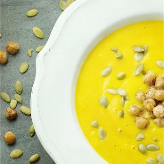Easy Roasted Pumpkin Soup (Blender).