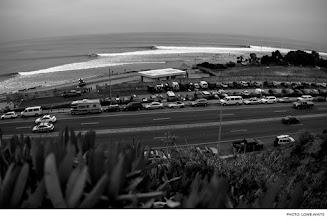 Photo: Malibu, California. Photo: Lowe-White #surfer #surferphotos