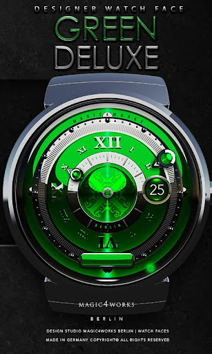 Green Deluxe Watch Face