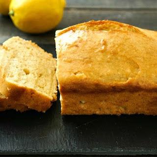 Gluten Free Lemon Bread.