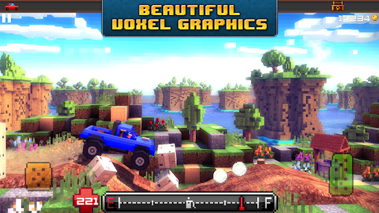 Blocky Roads- screenshot thumbnail