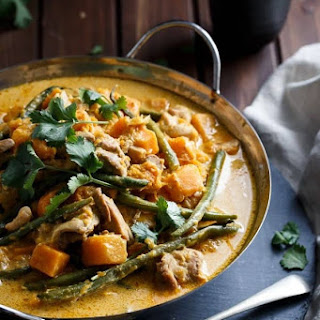 Chicken and Butternut Squash Curry.