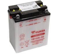 YUASA MC batteri YB12AL-A2 LxBxH: 134x80x160mm