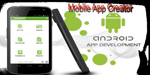 Mobile App Creator screenshot 1