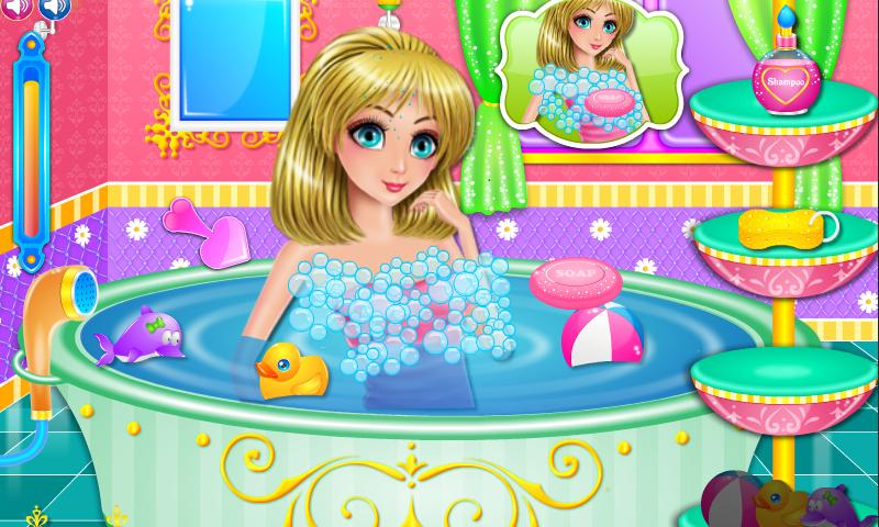 Princess Care and DressUp- screenshot