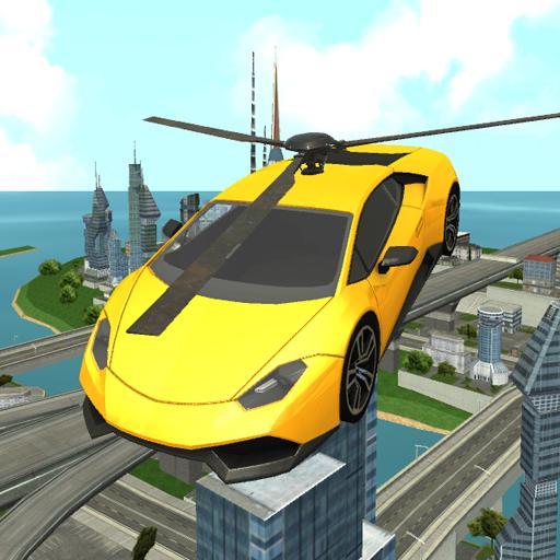 模擬App|飛行ヘリコプターのカーレスキュー LOGO-3C達人阿輝的APP