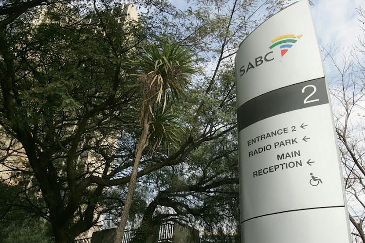 SABC radio park head office at Johannesburg.