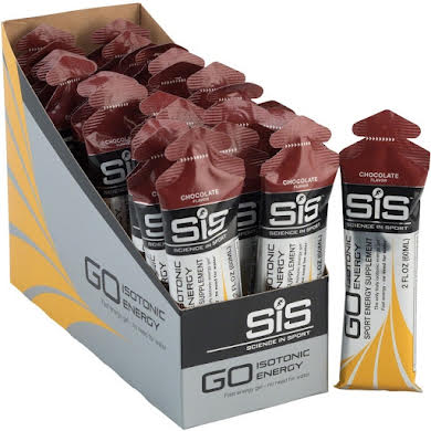 Science In Sport GO Isotonic Energy Gel, Box of 30