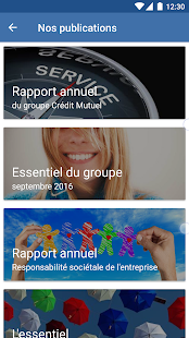 Crédit Mutuel - Nos Actus- screenshot thumbnail