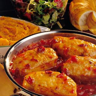 Cranberry-Onion Chops.