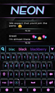 Neon-GO-Keyboard-Theme 4