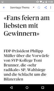Schweiz am Sonntag - E-Paper screenshot 3