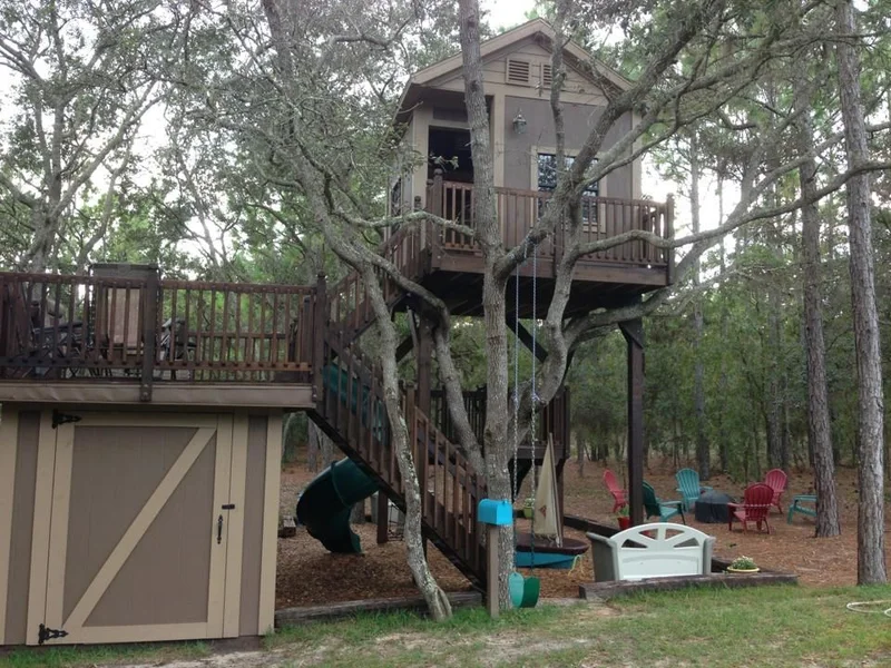 Tree House Plans & Design 4: The Ultimate Kid's Treehouse