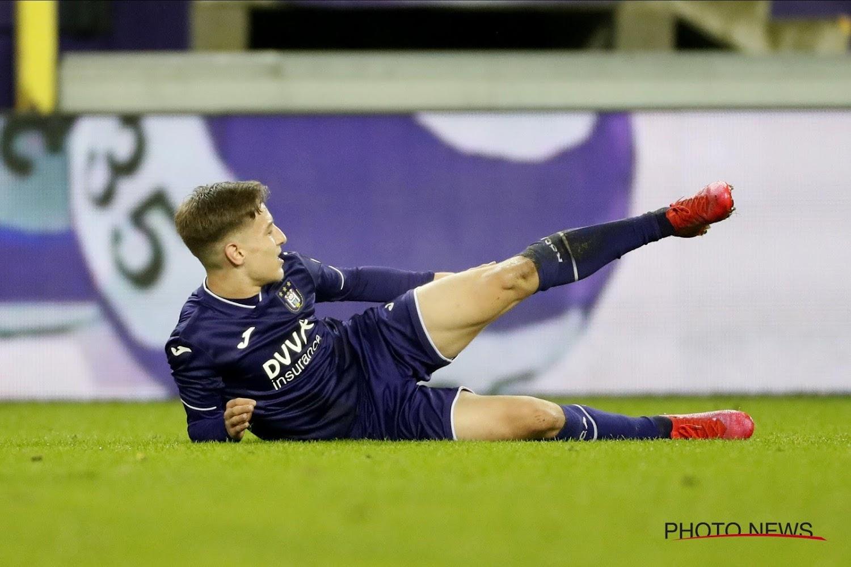Anderlecht récupère deux blessés de longue date pour son quart de finale de Coupe - Walfoot.be