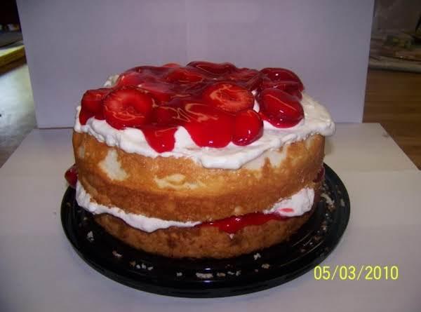 Strawberry Angel Cake