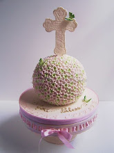 Photo: Niki's First Communion Cake by Tea Party Cakes (4/28/2012) View cake details here: http://cakesdecor.com/cakes/13942