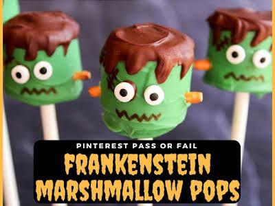 Pinterest Pass or Fail: Frankenstein Marshmallow Pops