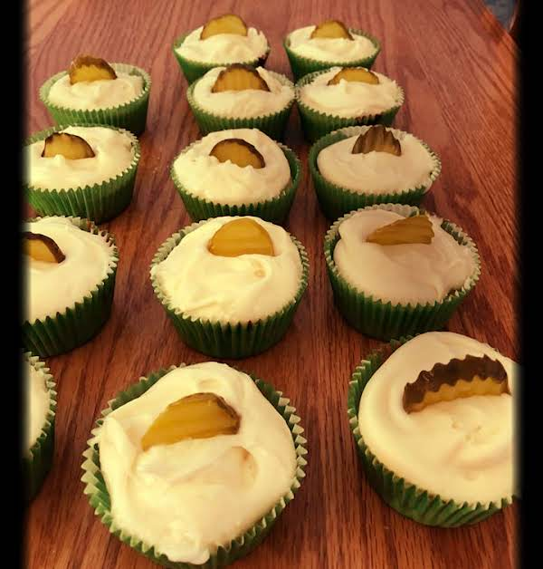 Pickle Cupcakes