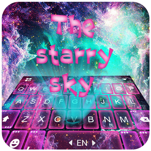 Starry Space Keyboard Theme