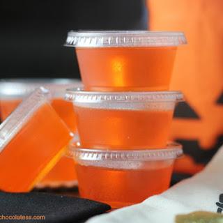 PINNACLE Orange Creamsicle Jell-O Shots.