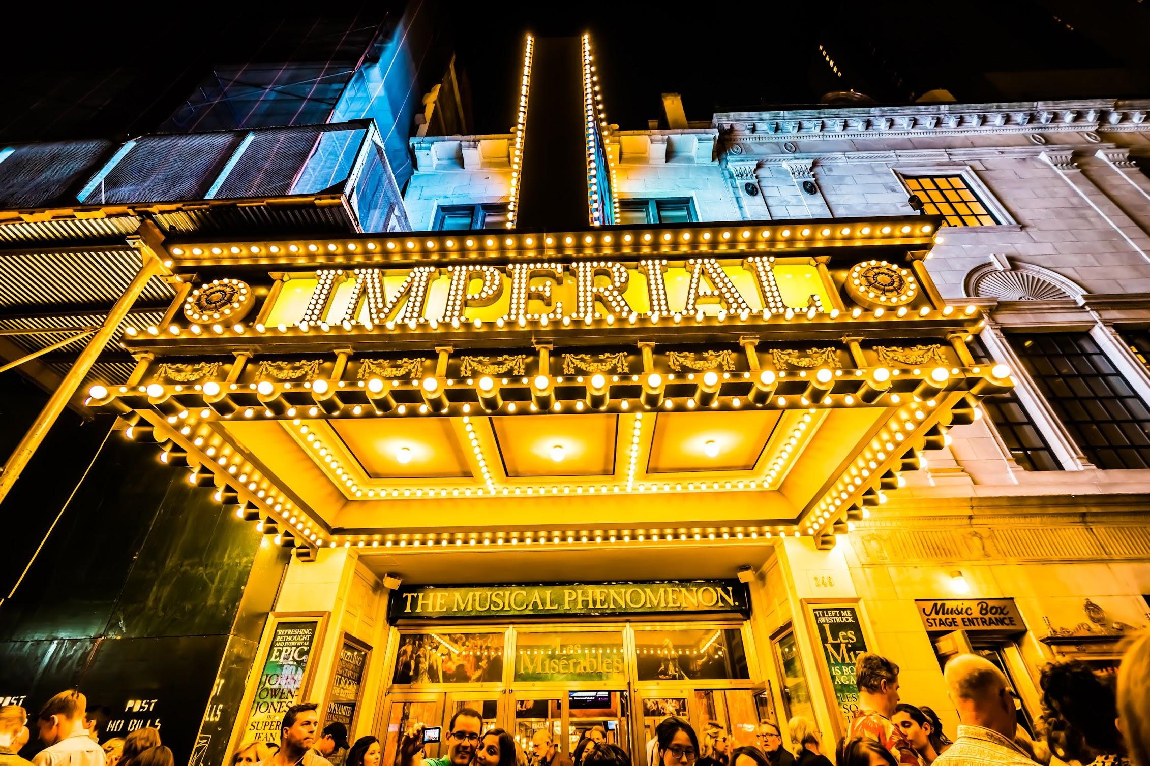 ニューヨーク ブロードウェイ Imperial Theatre2