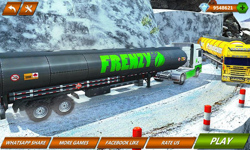 Offroad Oil Tanker Truck Transport Driver screenshots 1