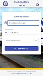 RAIL CHART App Download For Android 1
