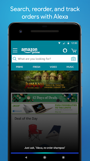Screenshot 1 for Amazon's Android app'