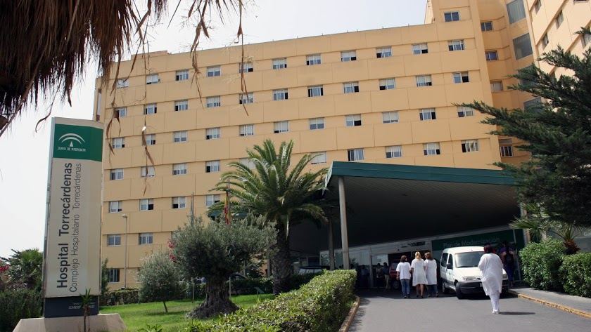 Imagen de archivo del Hospital de Torrecárdenas.