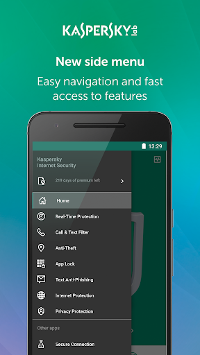 Kaspersky Mobile Antivirus: AppLock & Web Security screenshot 4