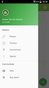 Sensor Test for Android - náhled