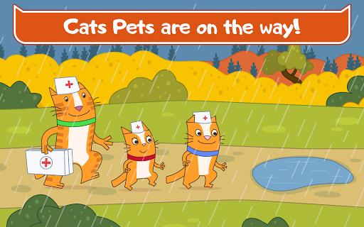 Cats Pets Animal Doctor Games for Kids! Pet doctor  screenshots 11