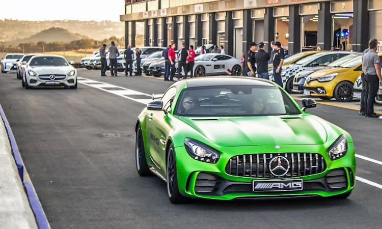 Kyalami Grand Prix Circuit in Midrand, Gauteng.