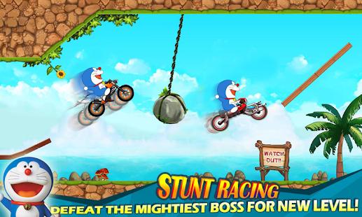 Doraemon games moto rider - náhled