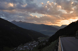 Photo: Tramonto dallla Valfurva [by Fauto COMPAGNONI - thanks!]