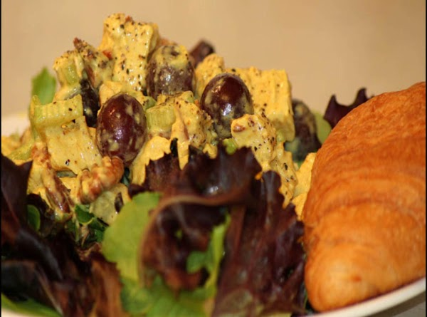 Currying Favor Chicken Salad Recipe