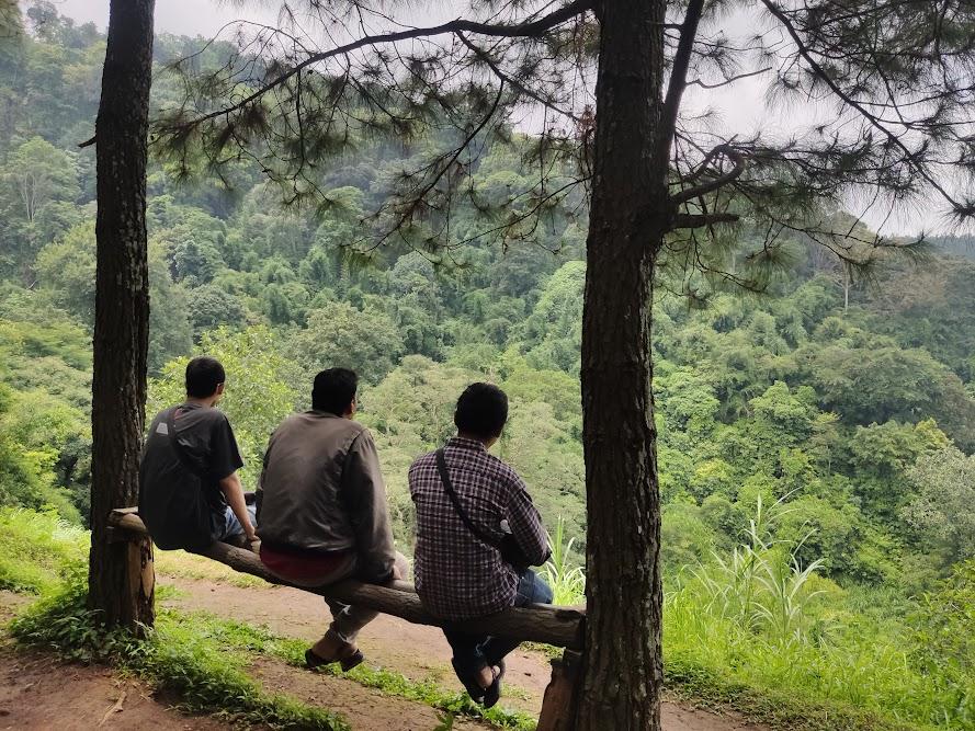 Spot foto di Wisata Puthuk Panggang Welut