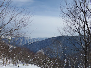富山方面の山