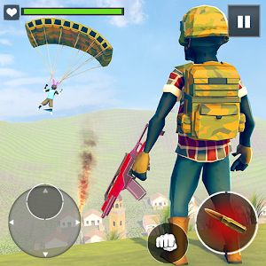 Stickman Battleground Survival 2.2 by Oscar Games logo