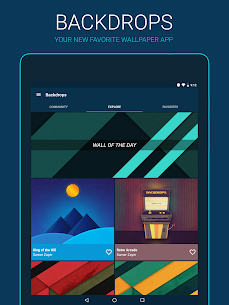 Backdrops – Wallpapers 3.1 [Pro Features Unlocked] MOD Apk 9