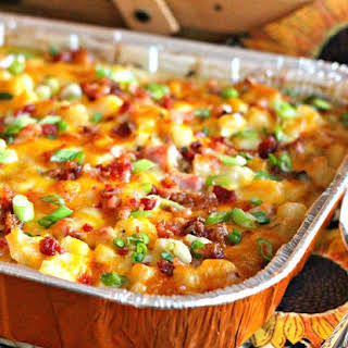 Ham And Hash Brown Casserole.