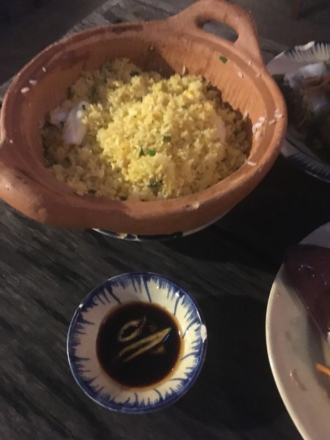 Mountain Retreat - Seafood fried rice