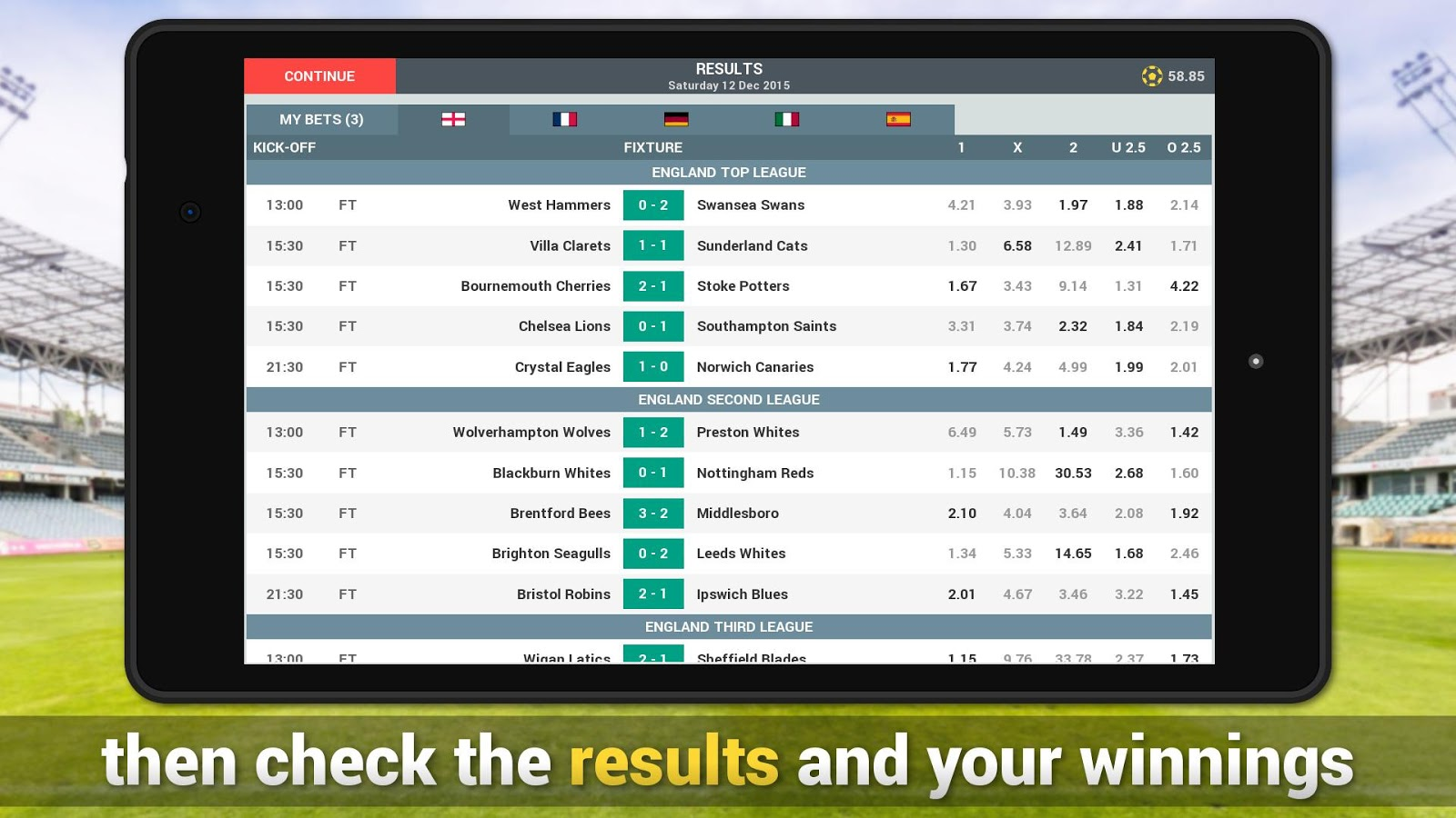 online sports betting simulator