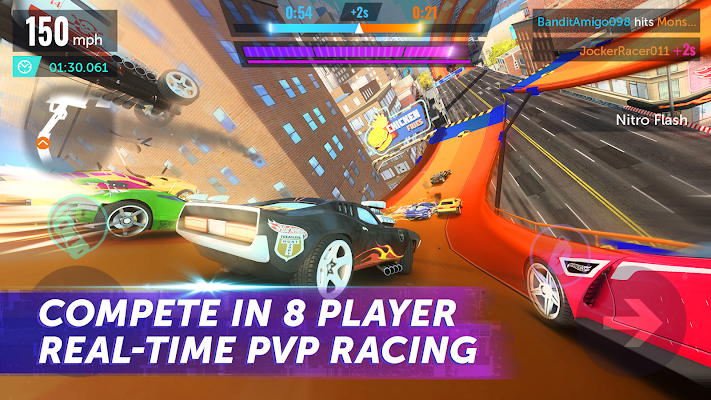 Hot Wheels Infinite Loop Screenshot Image