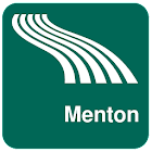 Menton Map offline icon