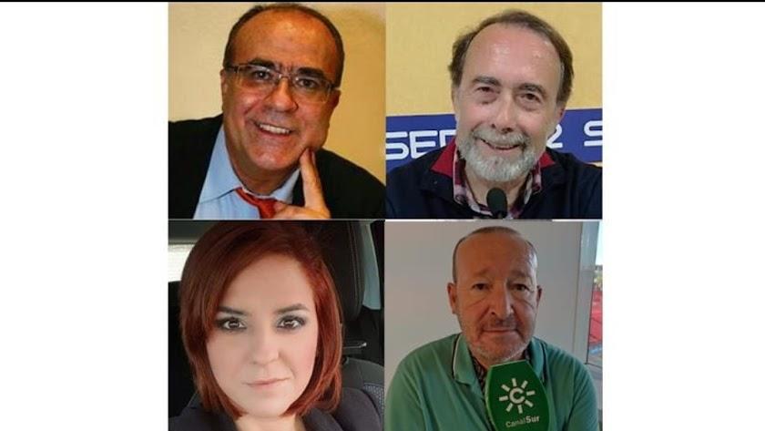 Los comentaristas del Carrusel Deportivo.