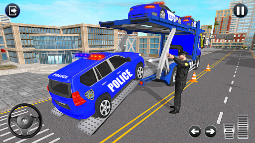 Grand Police Transport Truck screenshot 10