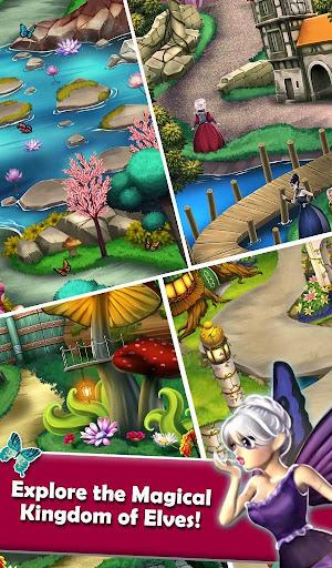 Mahjong Magic Worlds: Journey of the Wood Elves android2mod screenshots 7