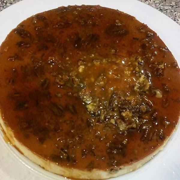 Pumpkin Pecan Cheese Flan Recipe