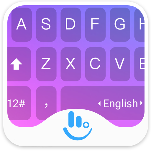 Neon Gradient Keyboard Theme